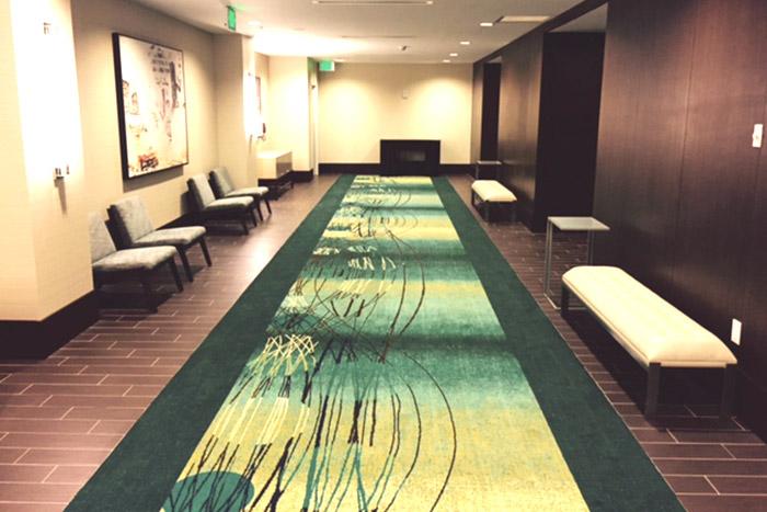 commercial hotel flooring