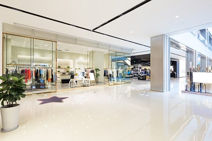 commercial retail flooring installation