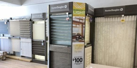 hunter douglas display