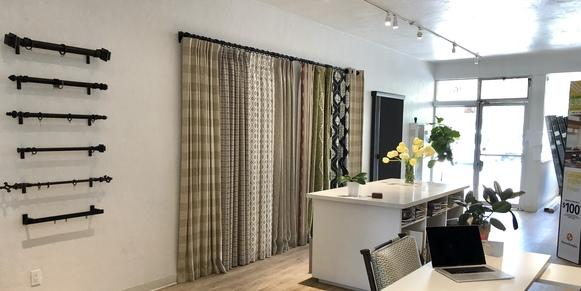 drapery showroom