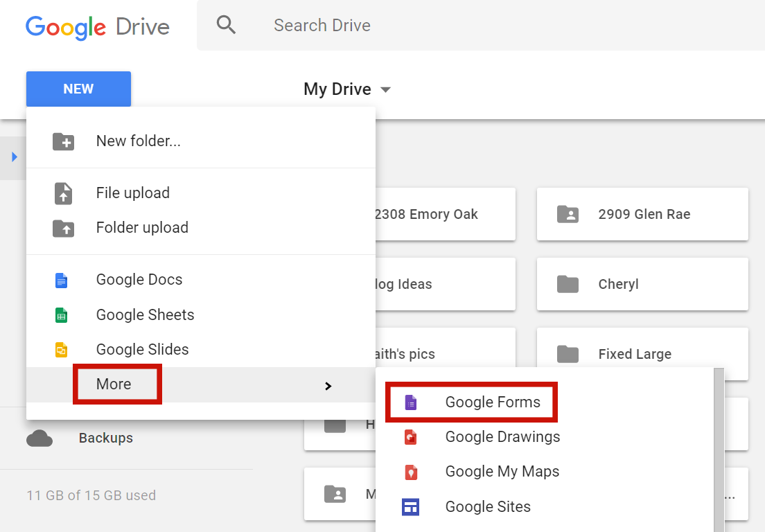 How To Create A Google Form From A Spreadsheet Or Google Doc