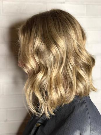 Long Bob with Balayage
