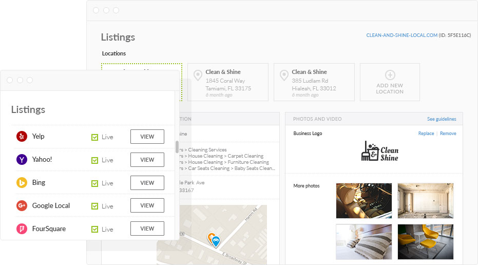 automate local listings