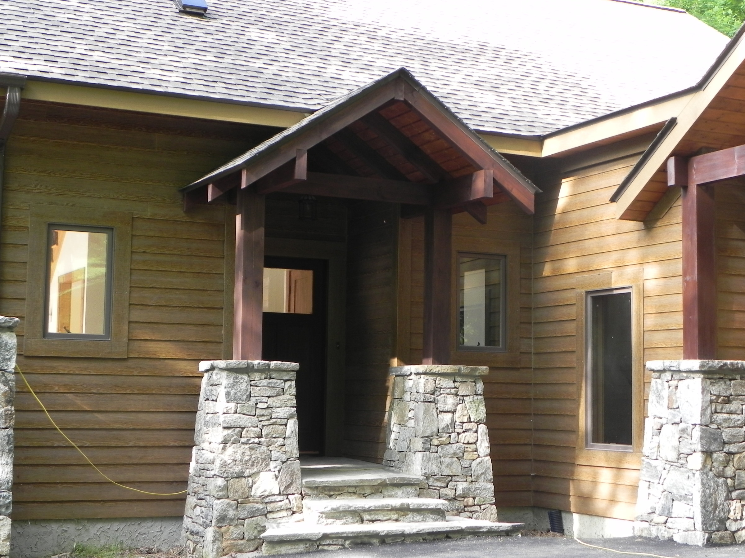 Timber frame home builder in north carolina for Dream homes builders