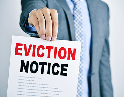 We are Eviction Notice Experts