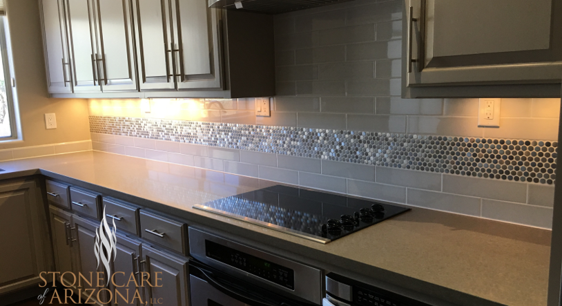 HOW TO CLEAN QUARTZ COUNTER-TOPS AND ENGINEERED STONE IN SCOTTSDALE AND CAVE CREEK, ARIZONA?