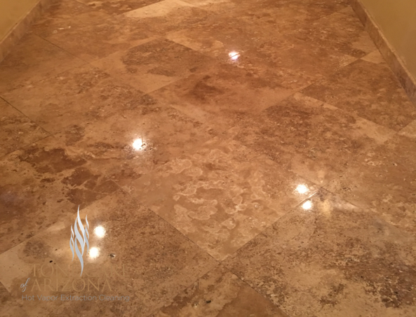 How to Take Care of Natural Stone Floors in Paradise Valley Arizona
