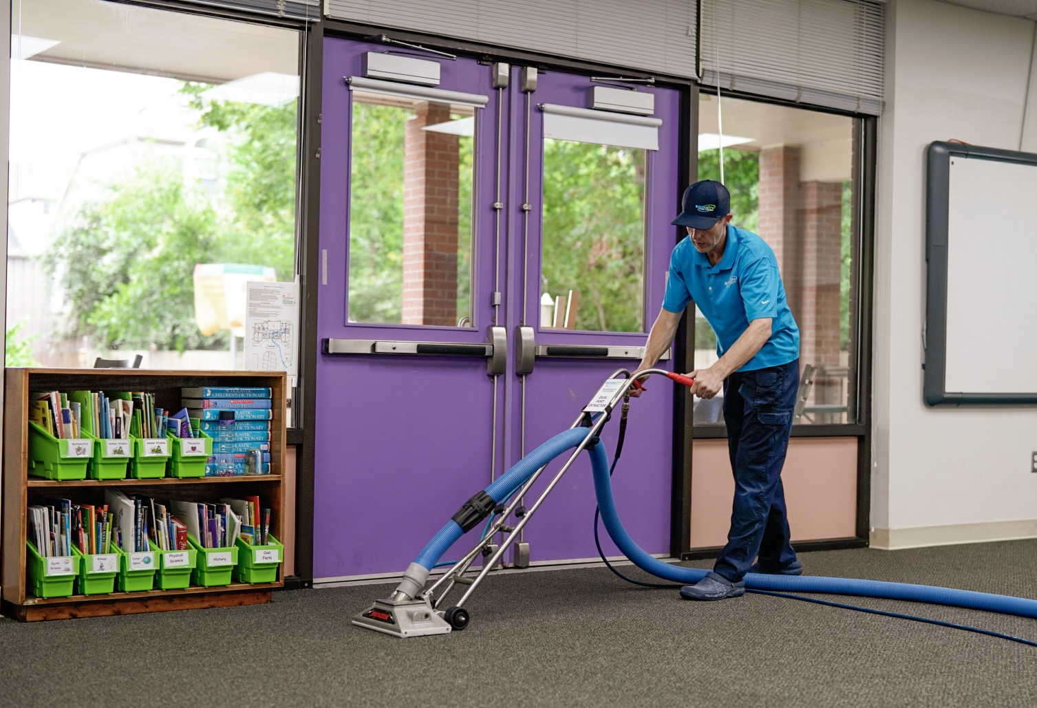 Houston school cleaning